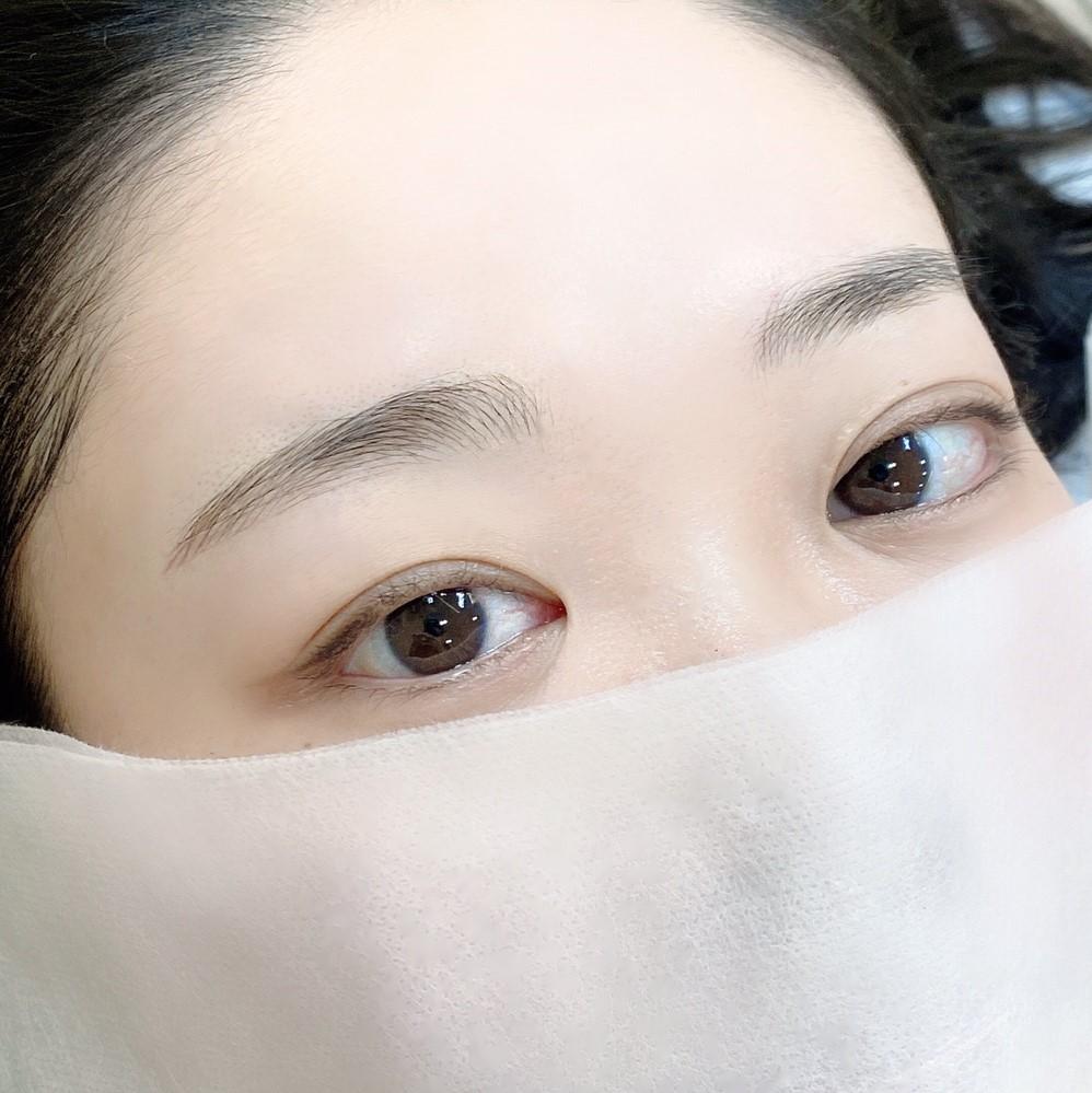 眉毛 韓国 メイク