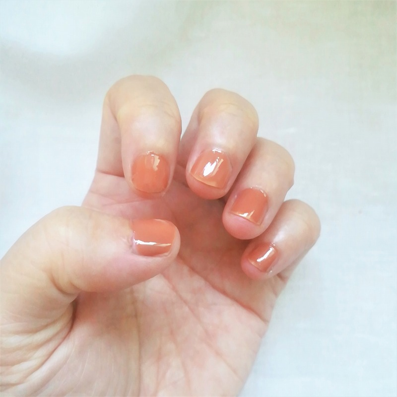 hince_Glow Up Color Nail_Soft Balance_新作ネイル