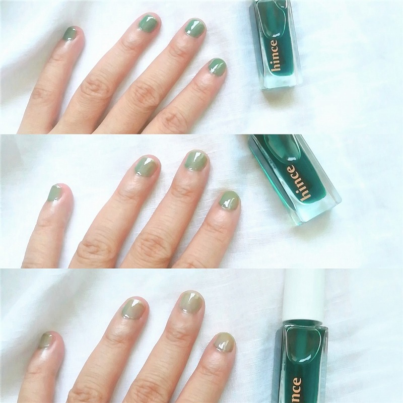 hince_Glow Up Color Nail__Cross the lice_新作ネイル