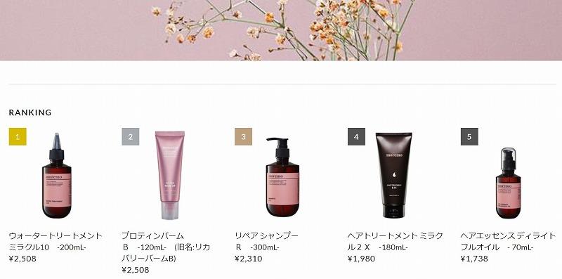 モレモ_moremo_日本_公式_売上ランキング